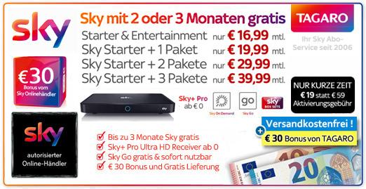 > Hier Sky Aboformular ausfüllen